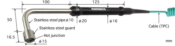 S-313K-01-1-TPC1-ASP , Anritsu Vietnam , Đầu dò nhiệt Anritsu , Probe,